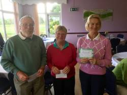 First Mixed Greensome of the year won by Paul Dicks and Hilary Bramley