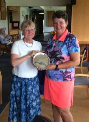 Ladies Club Champion Jayne Burrows