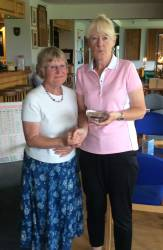 Ladies Club Champion runner up Lyn Frost