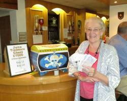 Treasure Chest Winner Sheila Lacy £500